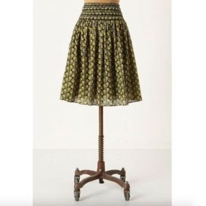 Lil Anthropologie Monarch Butterfly Skirt